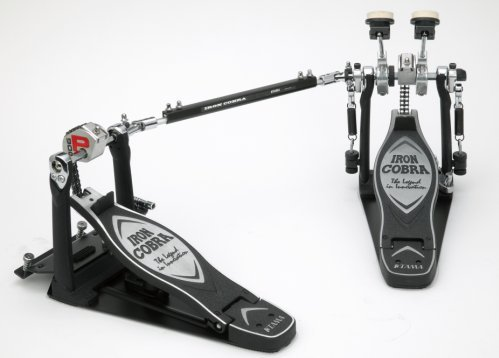 Tama TAMHP900PSWN Iron Cobra Coil Sliding Glide  Twin Bass Drum Pedal (Tama Cobra Coil compare prices)