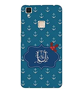 EPICCASE U Anchor Mobile Back Case Cover For VIVO V3 (Designer Case)