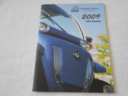 2009 Gem Electric Motor Cars Auto Brochure