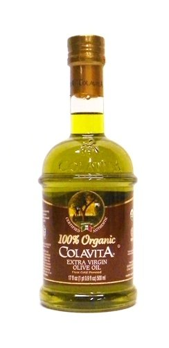 Colavita 100% Organic Extra Virgin Olive Oil 17 oz by Colavita