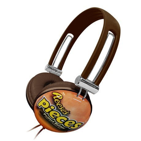 Dgl Dgl-820-Hrp Candeez Reeses' Pieces Headphone, Orange