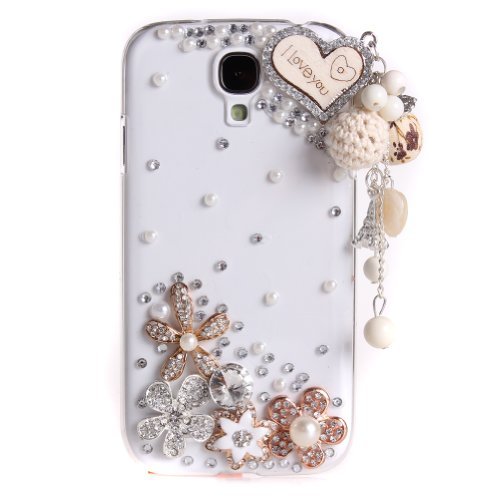 Miss Darcy 3D Bling Diamond Love Heart Lanyards