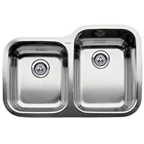 Blanco : 510-887R Supreme Stainless Steel Sink (Depth: 8in / 10in)