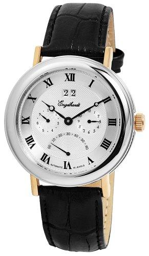 Engelhardt - 386742529007 - Montre Homme - Automatique - Analogique - Bracelet Cuir Noir