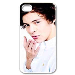 EUR Customized Print Harry Styles Pattern Back Case for iPhone 4/4S