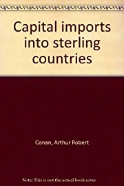 Capital Imports into Sterling Countries de A…