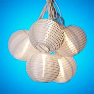 White Paper Lantern String Party Lights