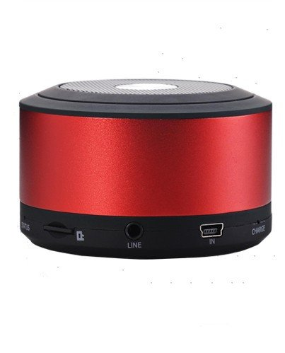 Portable Bluetooth Speaker With Microphone - Powerful Wireless Speaker And Mobile Phone Hands Free Kit - Compatible With Iphones, Samsung, Galaxy,Nokia, Htc, Blackberry, Google, Lg, Nexus, Ipad, Tablets, Mobile Phones, Smartphones, Pc'S, Laptops Etcortabl