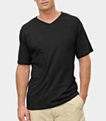 Fruit of the Loom Men's V-Neck T-Shirt