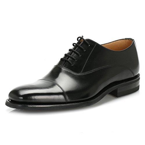 loake-uomo-nero-260b-legend-polished-cuoio-scarpe-uk-12