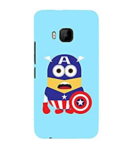 Vizagbeats captain america cartoon Back Case Cover for HTC One M9::HTC M9