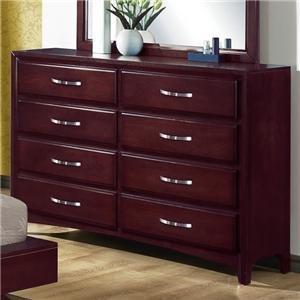 Vera 8-Drawer Dresser by CrownMark