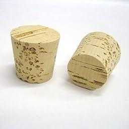 Tapered Cork Plugs MF19 100 Pcs Pack Top Diameter = 1-9/16\