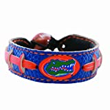 NCAA Florida Gators Team Color Football Bracelet at Amazon.com
