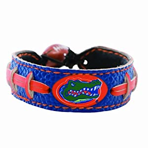 Buy NCAA Florida Gators Team Color Football Bracelet by GameWear