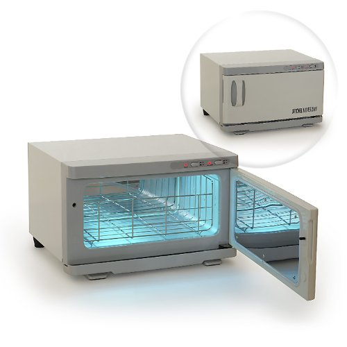 Salon Combination UV Sterilizer & Towel Warmer Cabinet