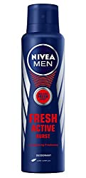 Nivea Men Fresh Active Burst Deodorant, 150ml