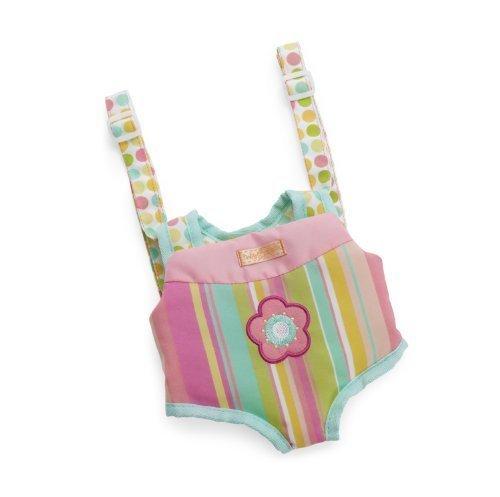 Manhattan Toy Baby Stella Snuggle Up Front Carrier Accessory For Nurturing Dolls By Manhattan Toy front-899816