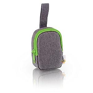 DIAGO 30067.75274 Deluxe - Funda para chupete, color gris y verde en Bebe Hogar