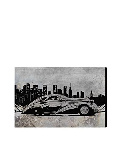 "Oliver Gal ""Rolls In The City"" Canvas Art"
