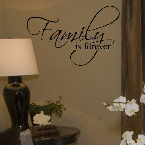 Family Vinyl Wall Lettering Decor