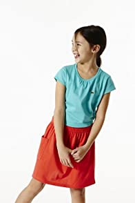 Girl's Cap Sleeve Crewneck T-shirt