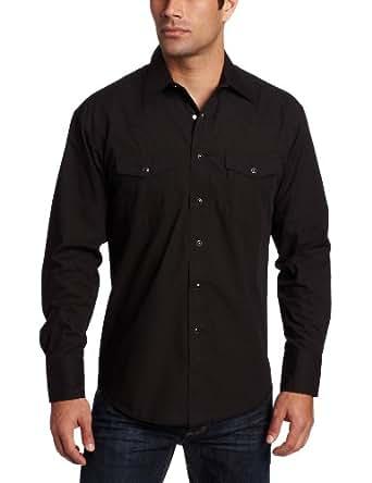 Wrangler men 39 s big tall sport western snap long sleeve for Mens tall button down shirts