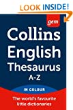 Collins Gem English Thesaurus (Collins Gem)