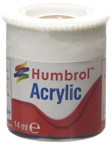 Humbrol Acrylic Paint, Brick Red