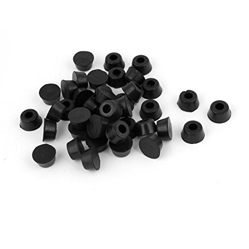 40 Pcs 17Mm X 9Mm Furniture Rubber Feet Washer Covers Protectors front-607149
