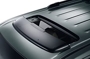 Honda Genuine Factory Moonroof Visor Wind Deflector - 08R01-SZA-100; 2009 to 2014 Pilot EX-L and EX-L Touring