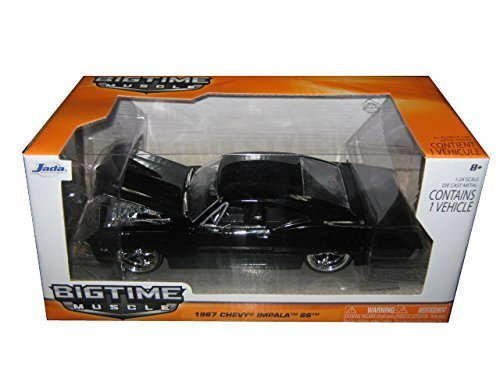 1967-chevrolet-impala-ss-black-1-24-by-jada-96985-by-jada