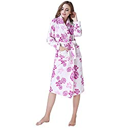 Richie House Women's Fleece Robe RH1590-M