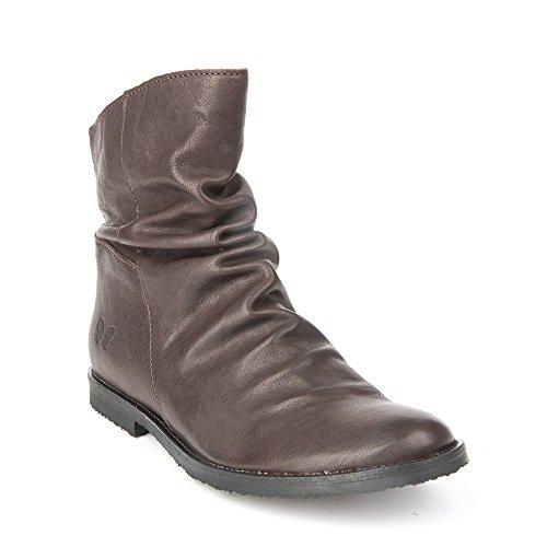 Felmini - Scarpe Donna - Innamorarsi com Clash 9071 - Stivaletti Cowboy & Biker - Genuine Pelle - Marron - 39 EU Size