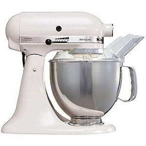 Kitchenaid - 5KSM150PSEWH - Robot ménager - blanc