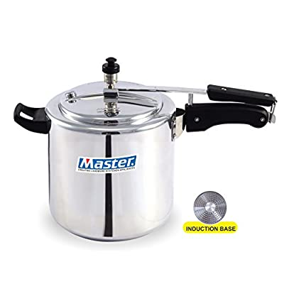 Master Aluminium Innerlid Pressure Cooker, 3 Litre Induction Base,1 piece,Silver Color