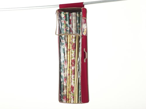 CoverMates Hanging Gift Wrap Bag : 42L x 11W x 7H 600D Polyester
