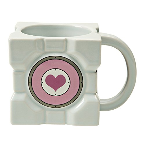 Portal 2 Tazza Mug Companion Cube J!NX