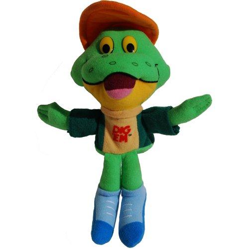 "Kellogg's Dig 'Em 7"" Plush Frog Bean Bag - 1"