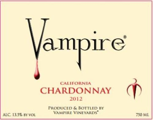 2012 Vampire Chardonnay 750 Ml