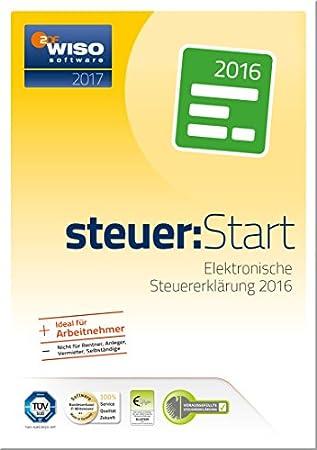 WISO steuer:Start 2017 (für Steuerjahr 2016) [PC Download]