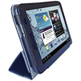 Samsung Galaxy Tab2 10.1 Tablet (GT-P5113) Custom Fit Portfolio Leather Case Cover with Built In Stand- Pink