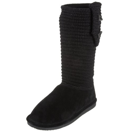 BEARPAW Women's Cable Knit Boot