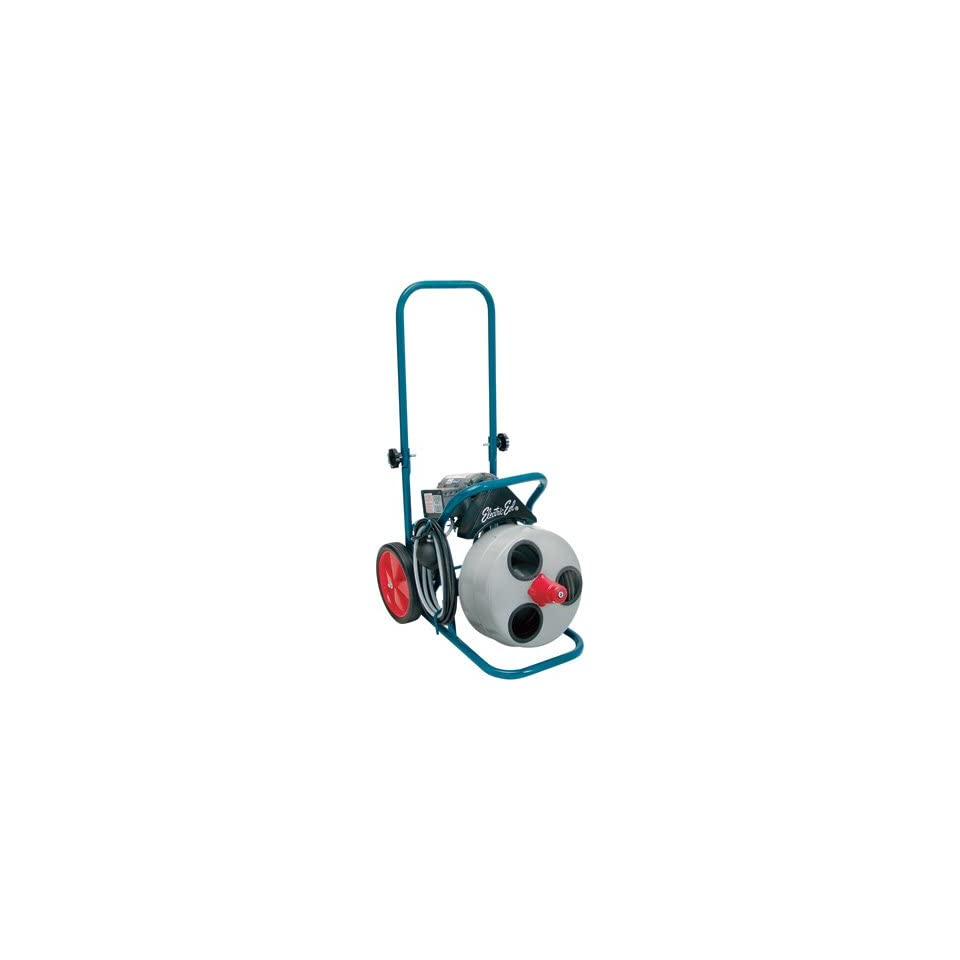 electric eel drain cleaning machine