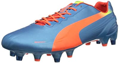 PUMA Men's Evospeed 1.2 Mixed Soft Ground Soccer Shoe
