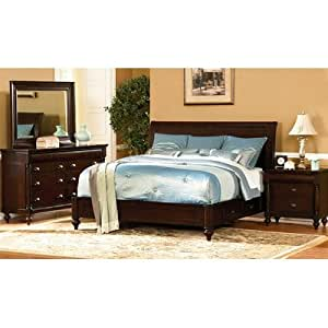 Bundle 55 harrison sleigh bedroom collection for Bedroom furniture amazon