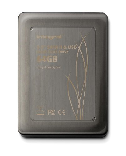 Integral 2.5 inch 64GB SATA II MLC Internal Solid State Drive