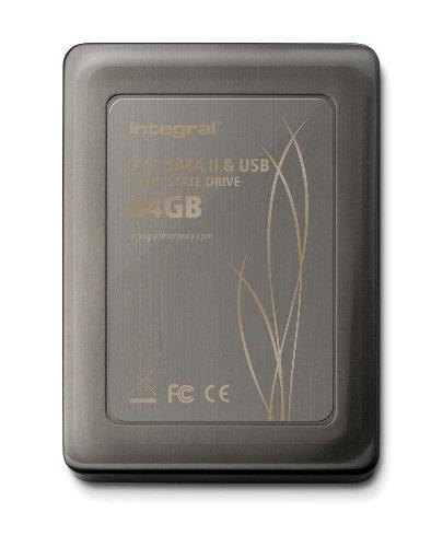 Integral 2.5 inch 64GB SATA II MLC Internal Solid State Drive