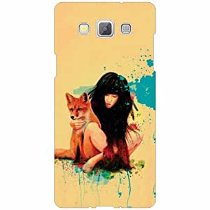 Samsung Galaxy A5 Back Cover - Silicon Love Designer Cases