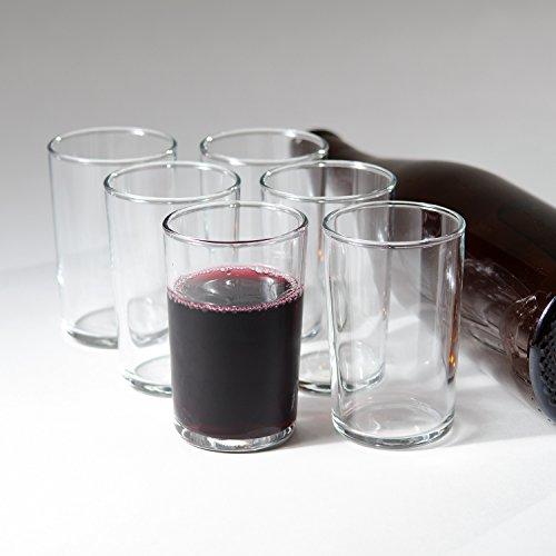 "Italian ""Bàcaro"" Stemless Wine Glasses (Gift Box Set Of 6)"